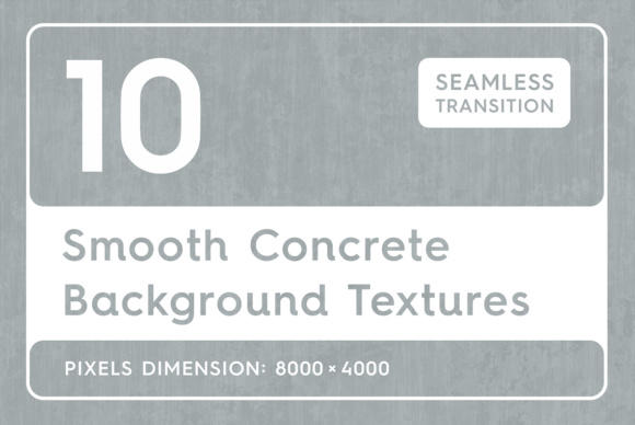 10 Smooth Concrete Background Textures Graphic Textures By Textures - Image 1