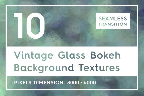 10 Vintage Glass Bokeh Backgrounds Graphic