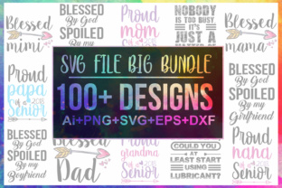 100 SVG/PNG/DXF/Ai/EPS Big Bundle Graphic By Graphicsqueen