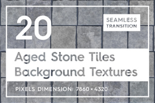 20 Aged Stone Tiles Backgrounds Graphic Textures By Textures
