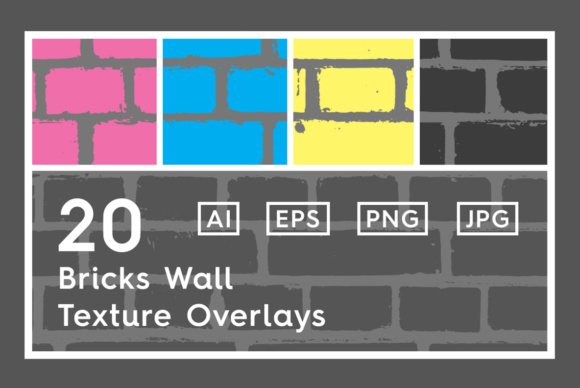 20 Bricks Wall Texture Overlays Graphic Textures By Textures