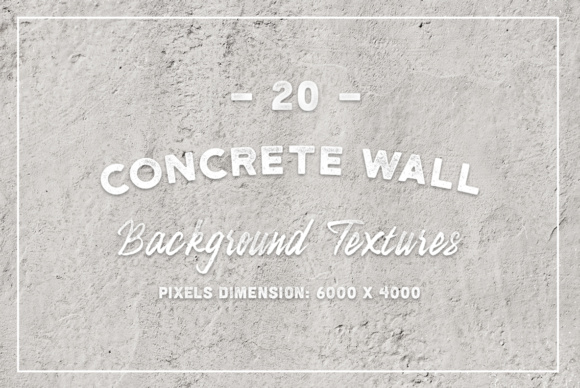 20 Concrete Wall Background Textures Graphic Textures By Textures - Image 1