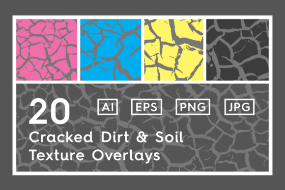 20 Cracked Dirt Texture Overlays Graphic Textures By Textures