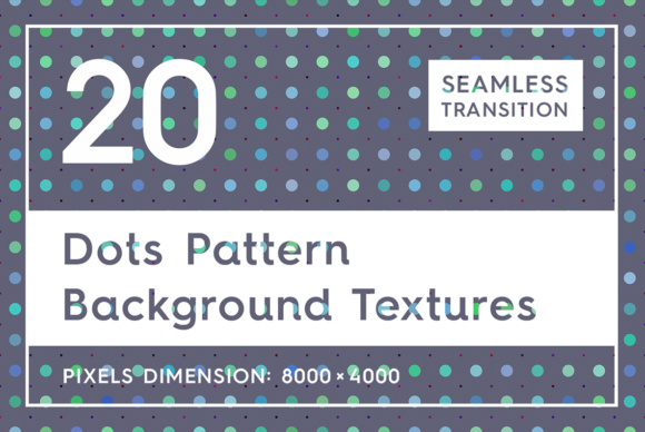 Download Free 20 Dots Pattern Background Textures Graphic By Textures for Cricut Explore, Silhouette and other cutting machines.