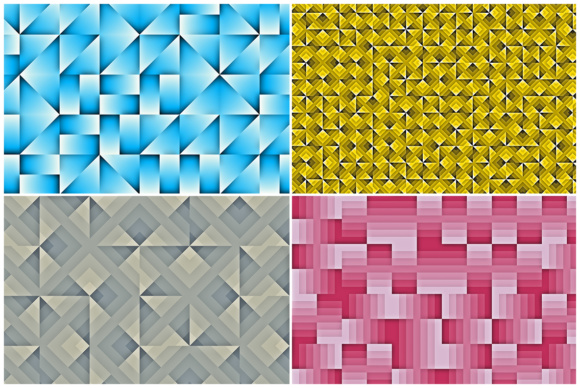 20 Geo Pattern Background Textures Graphic Backgrounds By Textures - Image 4