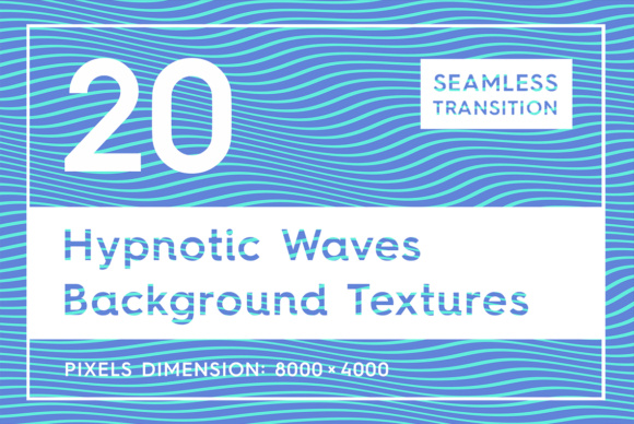20 Hypnotic Wave Backgrounds Graphic Backgrounds By Textures