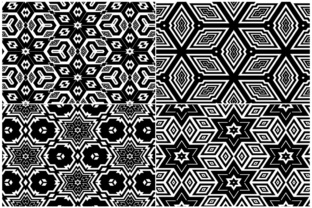 20 Monochrome Geometric Backgrounds Graphic Product Mockups By Textures 2