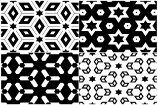 20 Monochrome Geometric Backgrounds Graphic Product Mockups By Textures 5