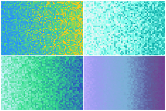 Download Free 20 Pixilated Gradient Backgrounds Grafico Por Textures for Cricut Explore, Silhouette and other cutting machines.