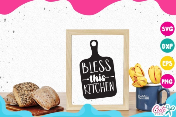 Kitchen Bundle Graphic Objects By Cute files - Image 4