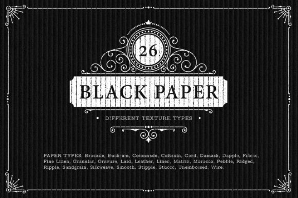 Download Free 26 Black Paper Texture Backgrounds Graphic By Textures for Cricut Explore, Silhouette and other cutting machines.