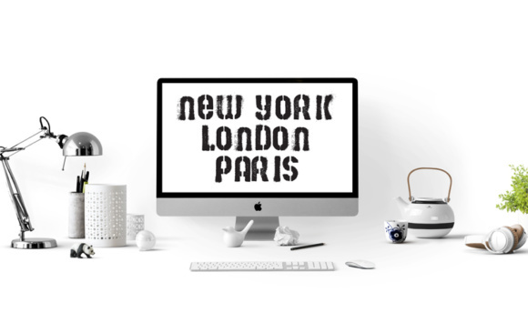 Print on Demand: 29 Print Ready Home Office Wall Art with a Stencil Street Art Style Graphic Crafts By GraphicsBam Fonts