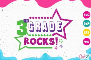 Download Free 3rd Grade Rocks Svg Back To School 3rd Grade Life Graphic By for Cricut Explore, Silhouette and other cutting machines.