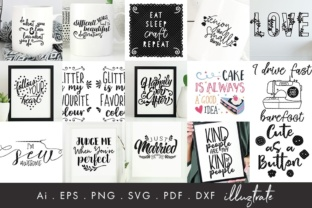 Print on Demand: 75 Quotes Bundle Graphic Crafts By illuztrate 5