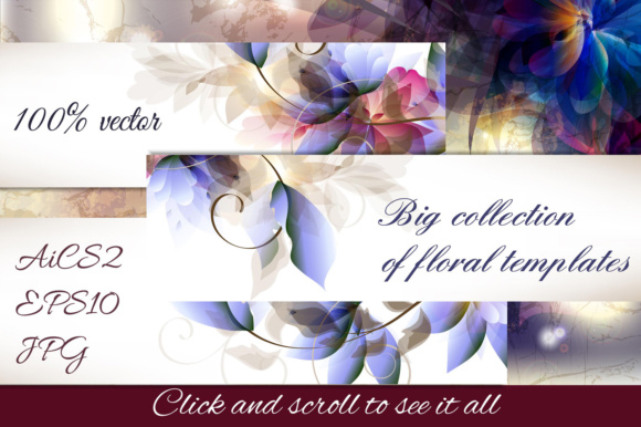 A Collection of Vector Templates Graphic Graphic Templates By fleurartmariia