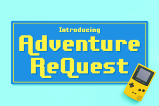 Adventure ReQuest Display Font By Chequered Ink