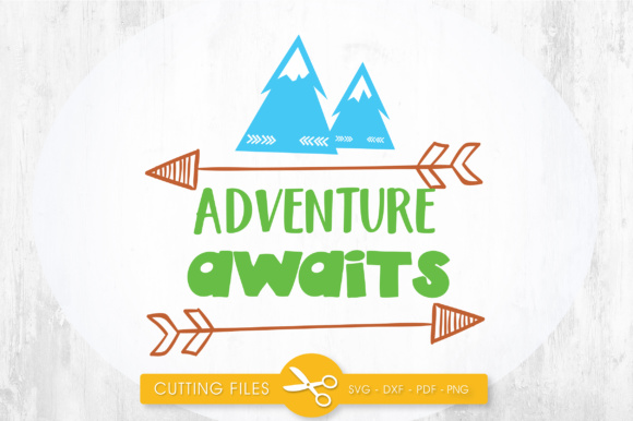 Adventure Awaits Arrows Graphic Crafts By PrettyCuttables