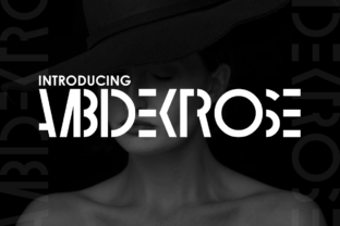 Ambidextrose Display Font By Chequered Ink