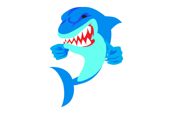 Angry Shark Svg Cut File By Creative Fabrica Crafts Creative