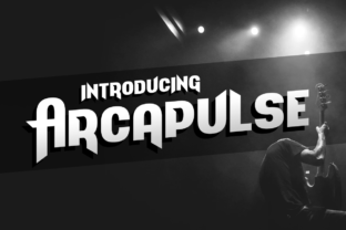 Arcapulse Display Font By Chequered Ink