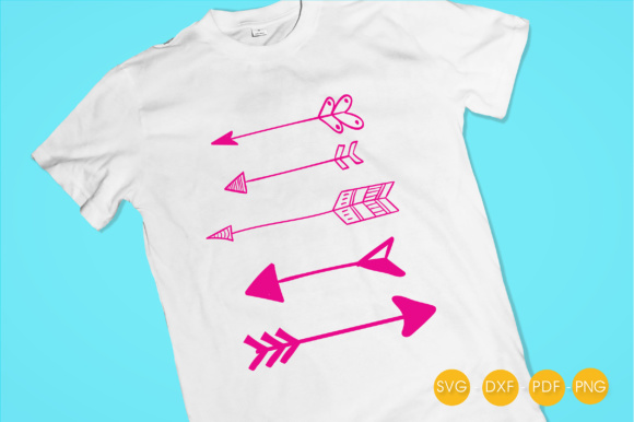 Arrows Graphic Crafts By PrettyCuttables - Image 2