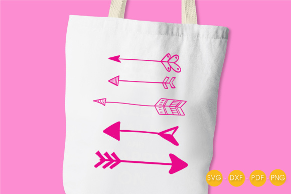 Arrows Graphic Crafts By PrettyCuttables - Image 3