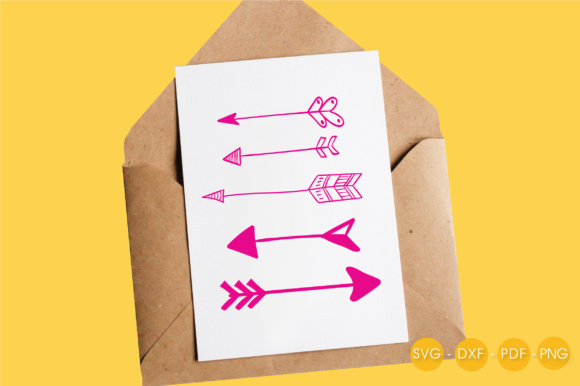 Arrows Graphic Crafts By PrettyCuttables - Image 4