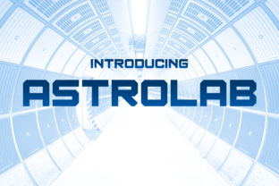 Astrolab Display Font By Chequered Ink