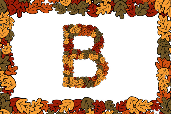 Download Free Autumn Letters A Z Svg Png Eps Ai Graphic By Typera Creative Fabrica for Cricut Explore, Silhouette and other cutting machines.