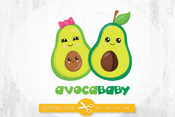 AvocaBaby Graphic Crafts By PrettyCuttables
