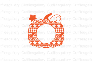 Download Free Aztec Pumpkin Monogram Cut File Graphic By Cutfilesgallery for Cricut Explore, Silhouette and other cutting machines.