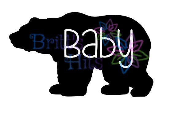 Download Free Baby Bear Graphic By Britt S Hits Creative Fabrica for Cricut Explore, Silhouette and other cutting machines.