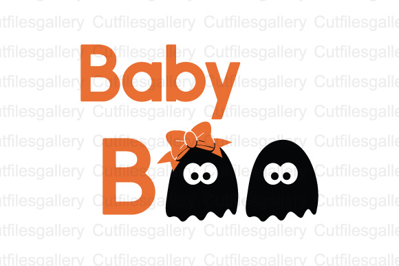 Download Free Baby Boo Svg Dxf Png Cut File Graphic By Cutfilesgallery for Cricut Explore, Silhouette and other cutting machines.