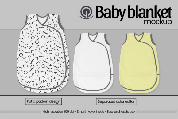 Download Free Baby Blanket Mockup Graphic By Gumacreative Creative Fabrica for Cricut Explore, Silhouette and other cutting machines.