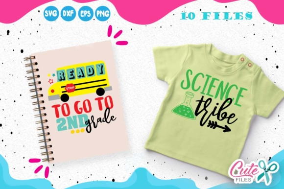 Back to School Mini Bundle Graphic Illustrations By Cute files - Image 2