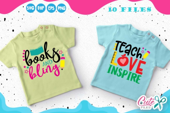 Back to School Mini Bundle Graphic Illustrations By Cute files - Image 5