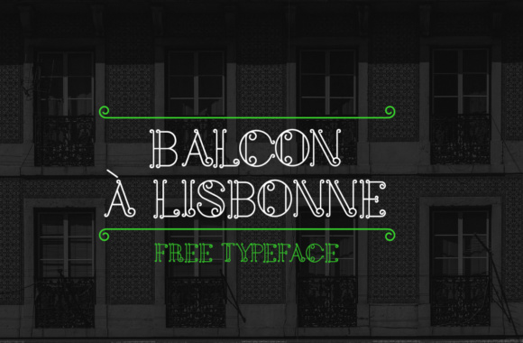Print on Demand: Balcon a Lisbonne Decorative Font By Paulo Oliveira
