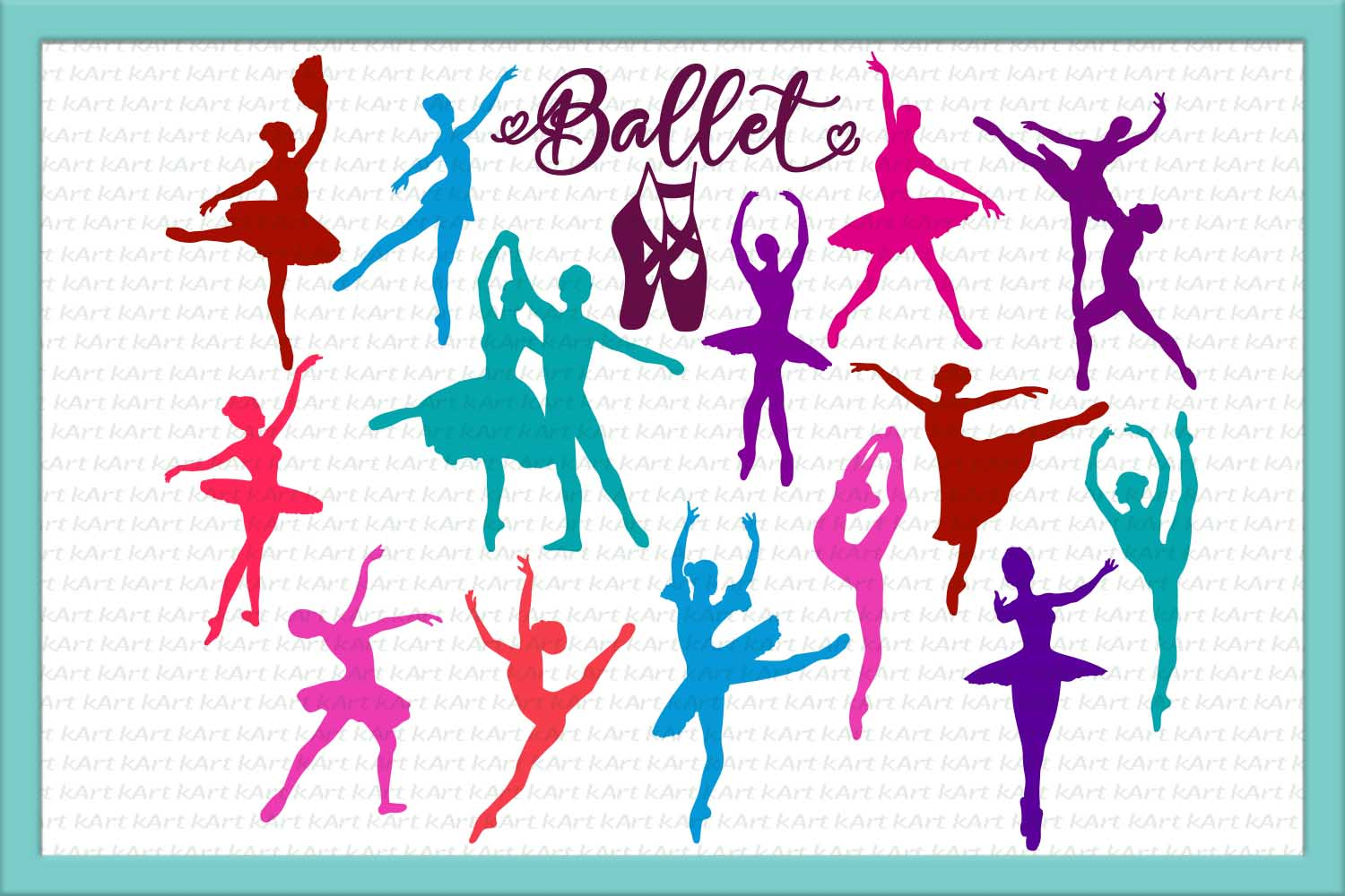 Download Free Ballet Dancer Dancers Ballerina Ballet Shoes Dance for Cricut Explore, Silhouette and other cutting machines.