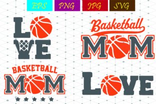 Download Free Basketball Mom Basketball Love Svg Graphic By Best Store SVG Cut Files