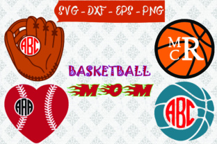 Basketball Mom SVG Graphic By Best_Store
