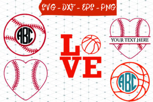 Basketball Monogram SVG Graphic By Best_Store