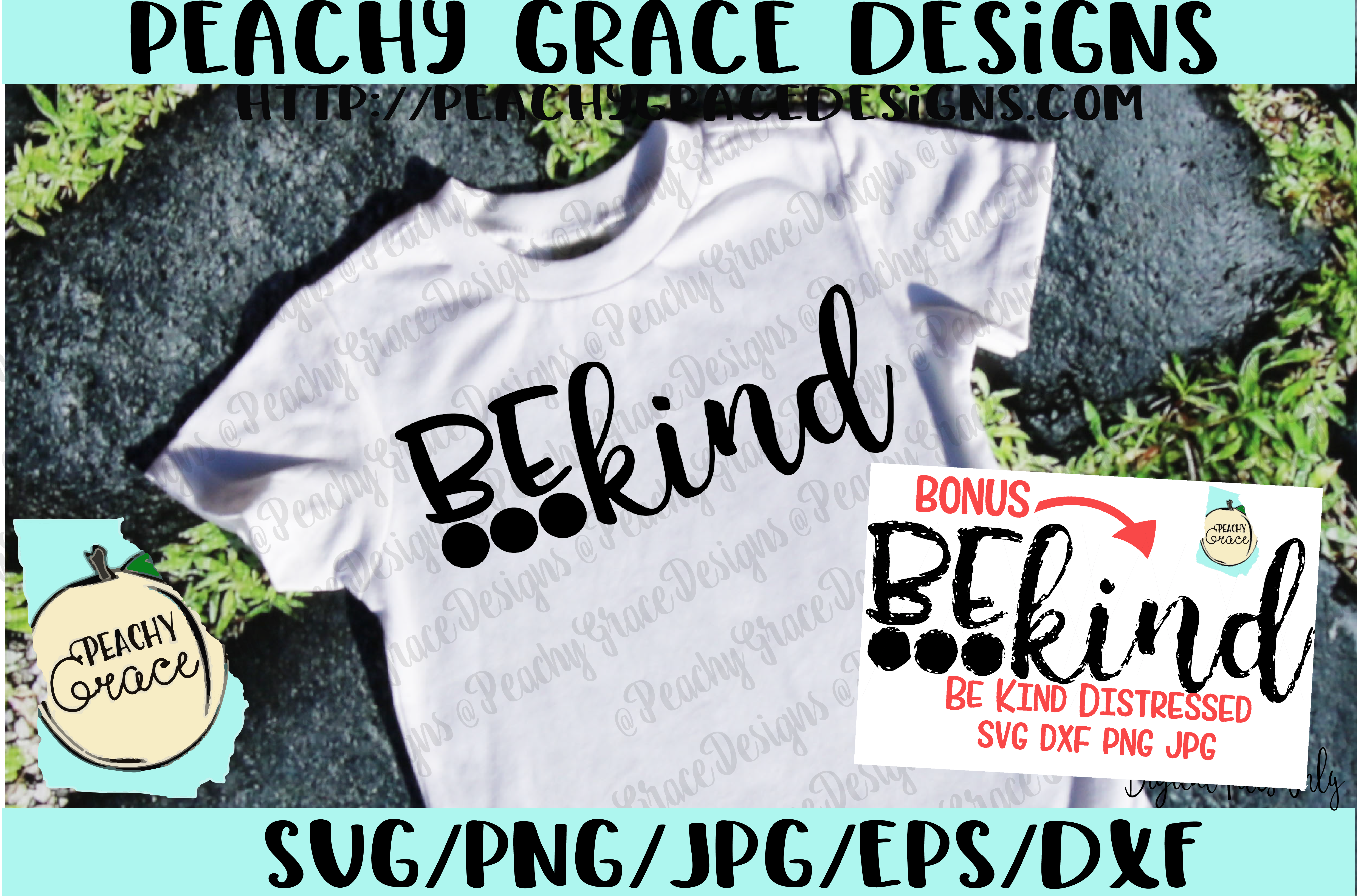 Download Free Be Kind Graphic By Peachy Grace Designs Creative Fabrica for Cricut Explore, Silhouette and other cutting machines.