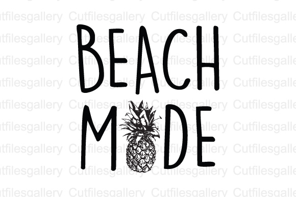Download Free Beach Mode Cut File Graphic By Cutfilesgallery Creative Fabrica for Cricut Explore, Silhouette and other cutting machines.