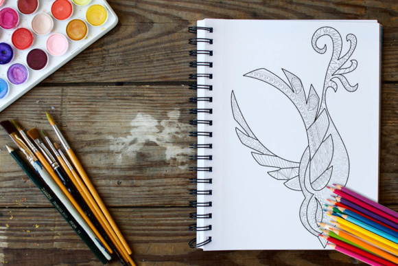 Birds Coloring Book - 30 Unique Birds Designs Graphic Coloring Pages & Books Adults By ColoringBooks101 - Image 2