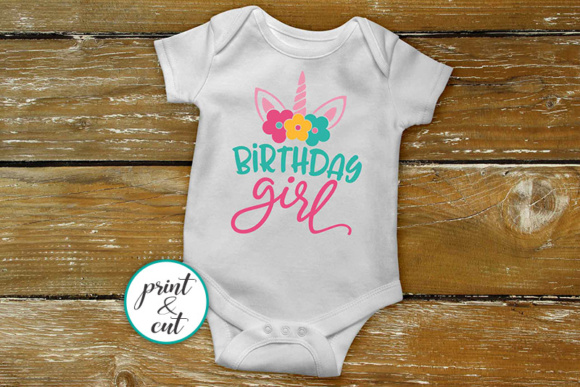 Download Free Birthday Unicorn Bundle Graphic By Cornelia Creative Fabrica for Cricut Explore, Silhouette and other cutting machines.