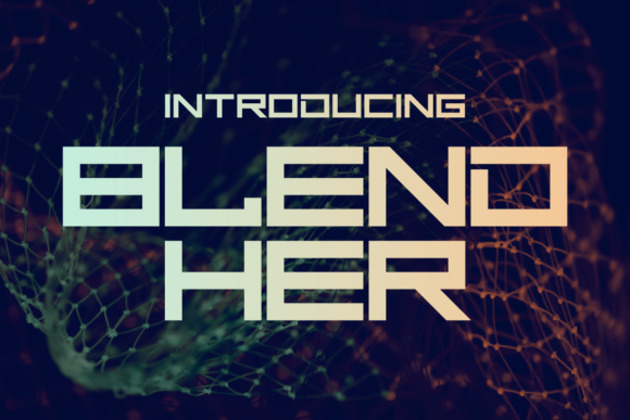 Print on Demand: Blend Her Display Font By Chequered Ink