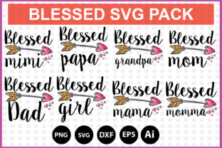 Blessed SVG Bundle Pack Graphic By DesignSmile
