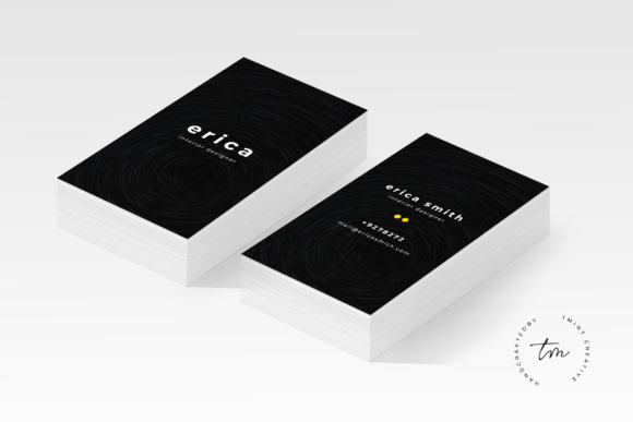 Business Card Grafik Druck-Templates von TMint