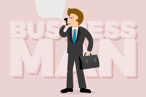 Business Man Graphic By KitCreativeStudio
