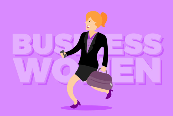 Business Women Graphic By KitCreativeStudio